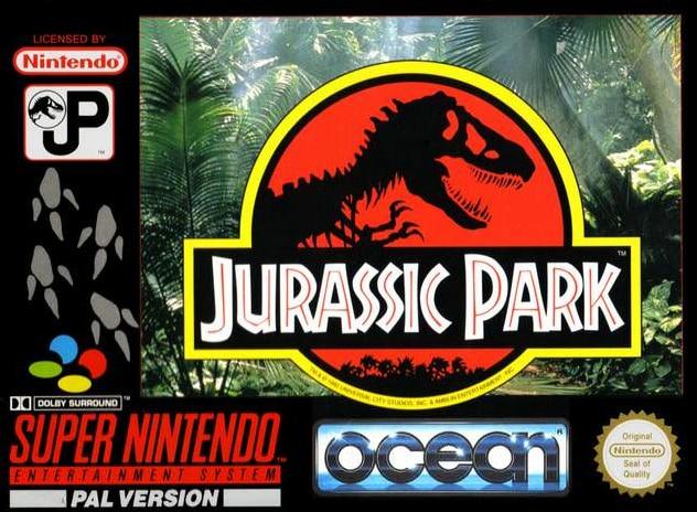 Jurassic Park Super Nintendo test