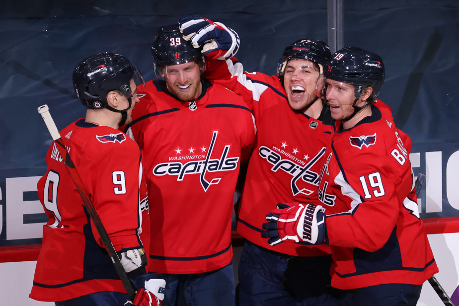 Anthony Mantha shines in his debut with Capitals