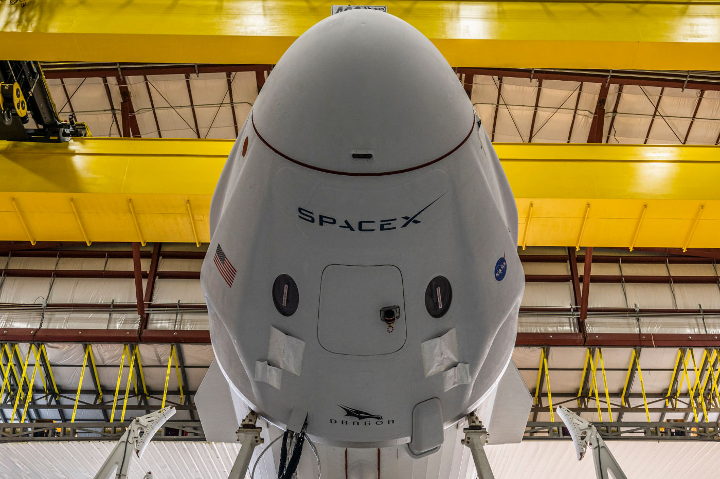 Dragon SpaceX crew