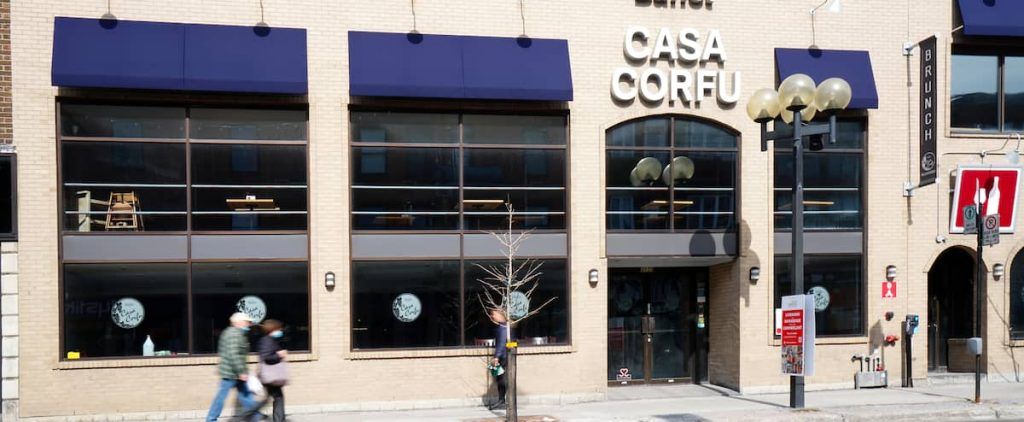 Another service for the Casa Corfu buffet