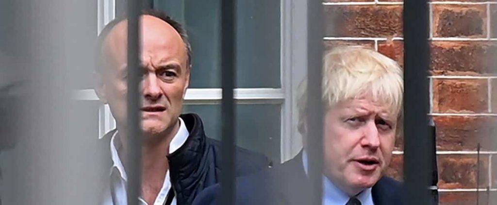 "Boris Johnson's former right hand calls him ""incompetent"""