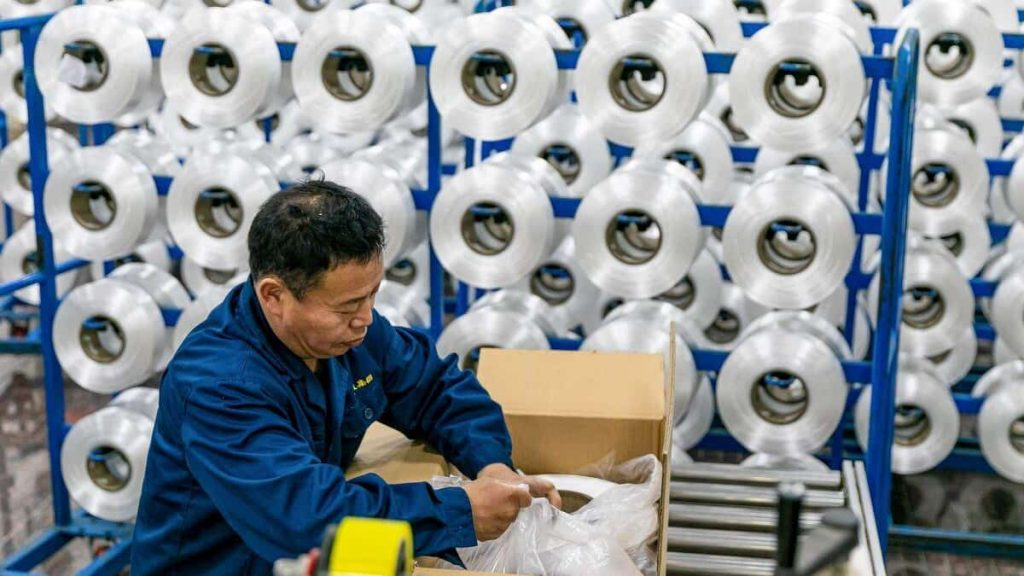 China reports record growth in the first quarter