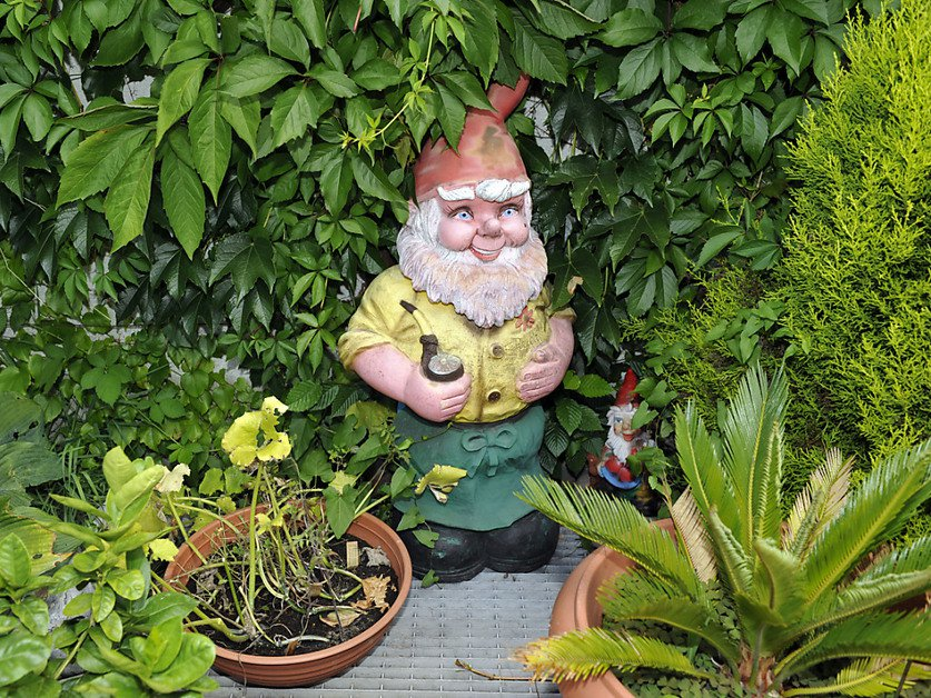 Les Anglais aiment les nains de jardin (image prétexte) © KEYSTONE/KARL-HEINZ HUG