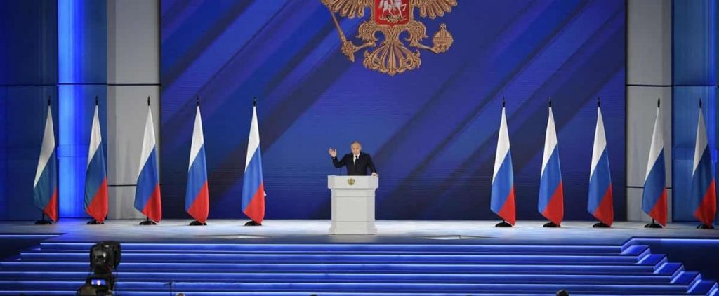 In his annual speech, Putin warns the West