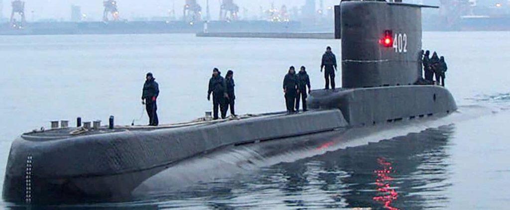 Missing Indonesian submarine off Bali, 53 men on board