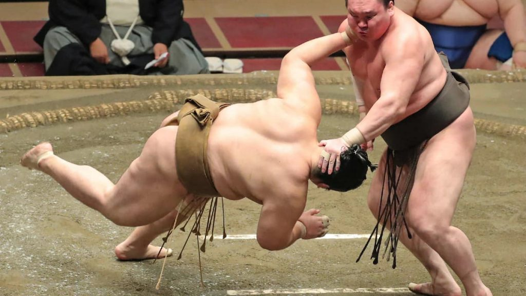 The sumo wrestler dies after a violent fall causes unrest in Japan