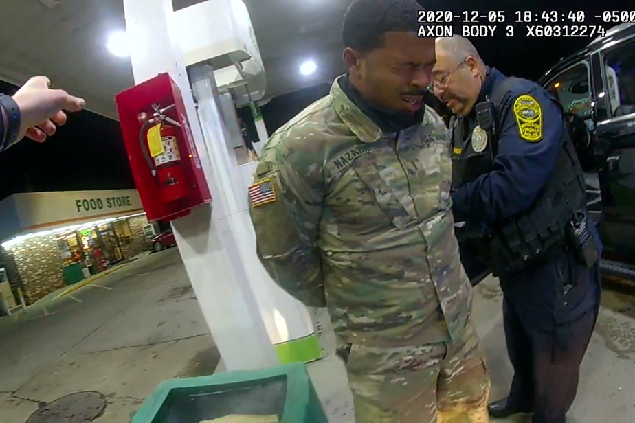 Virginia |  The investigation into the arrest of a muscular black soldier