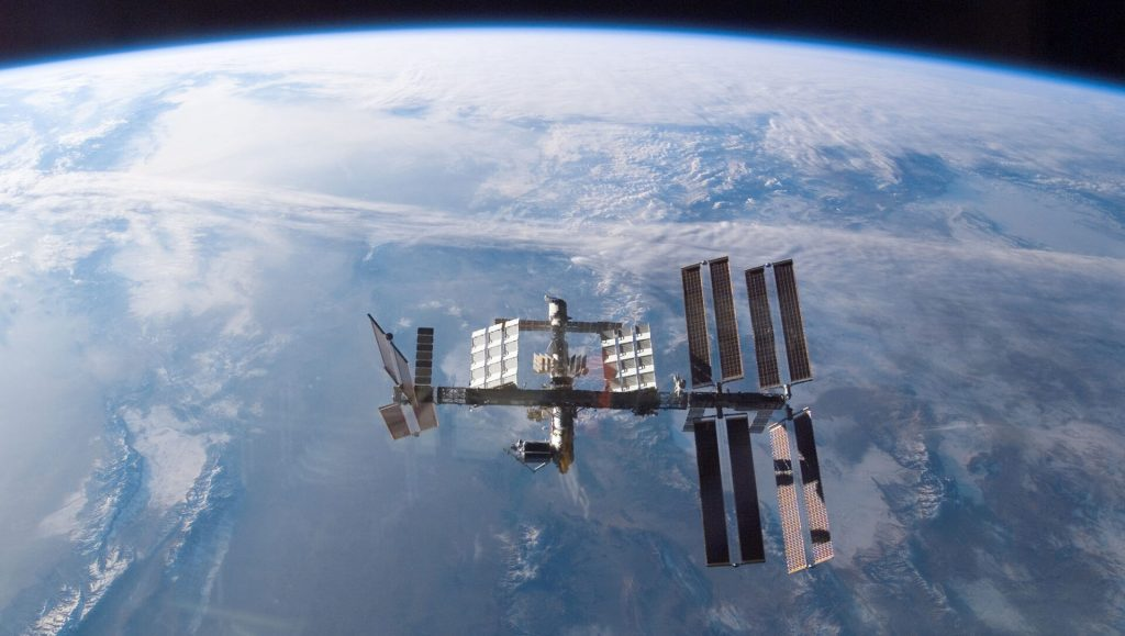 Where exactly is the International Space Station now?