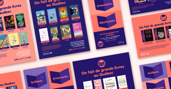 """The """"Je lis Québécois"""" campaign continues"""