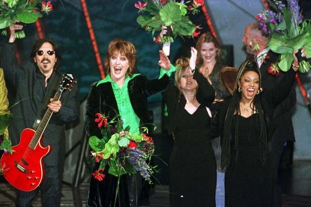 Katrina congratulates Eurovision Song Contest