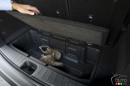 Nissan Pathfinder 2022, storage space