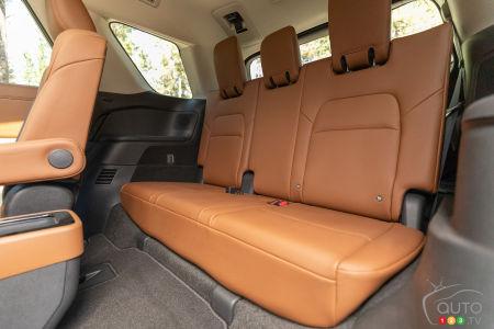 2022 Nissan Pathfinder, third row seats