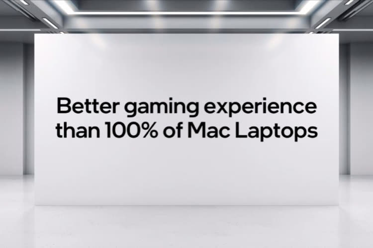 Intel mutilates the M1 chip once again in a game-centric campaign