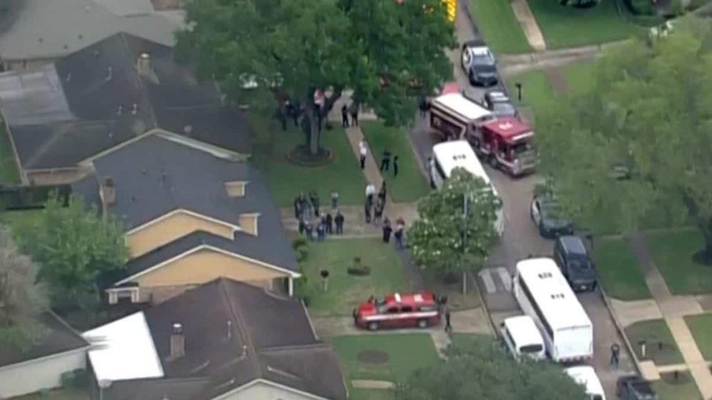90 people are found in a single housing in Houston