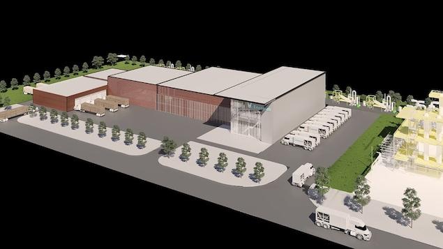 A $ 1 billion green hydrogen project in Becancour