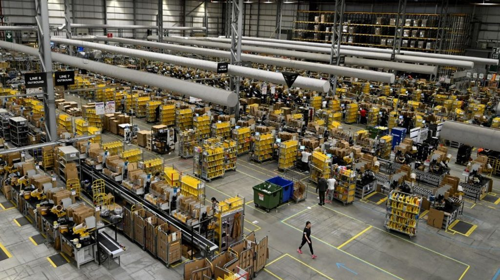 Amazon has announced it will create 10,000 jobs in the UK