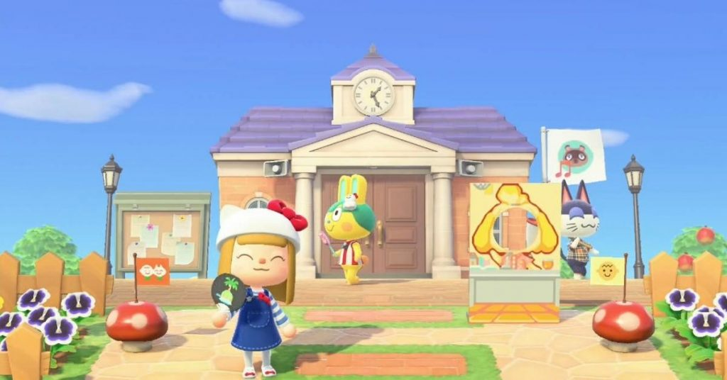 Animal Crossing New Horizons: Official Nintendo Island changes its style