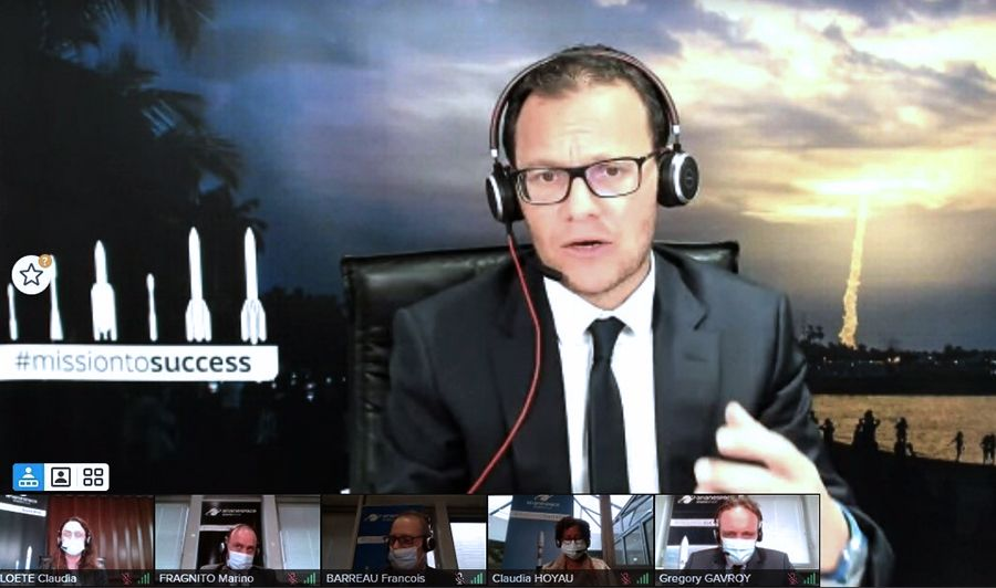 Arianespace President Denounces Space 'Risk of Monopolization' by SpaceX    Science    News    the sun