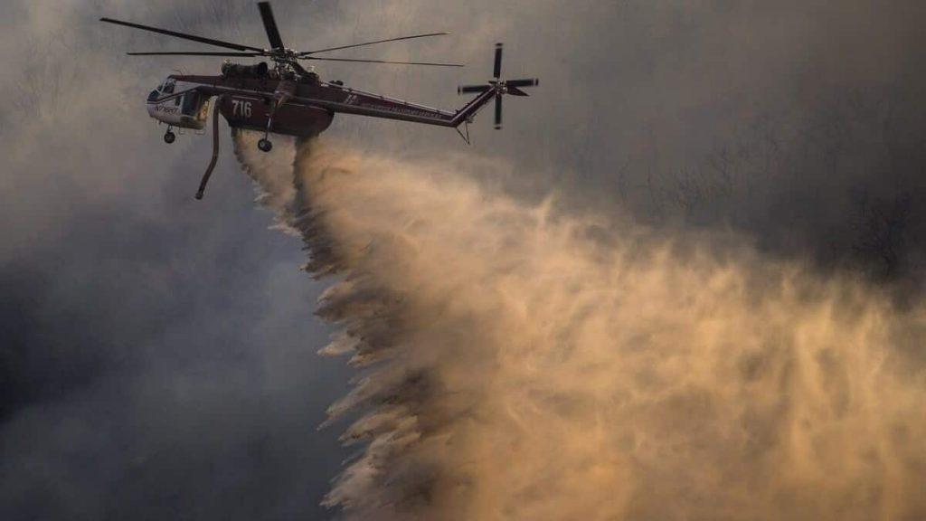 California fire: more than 500 homes evacuated