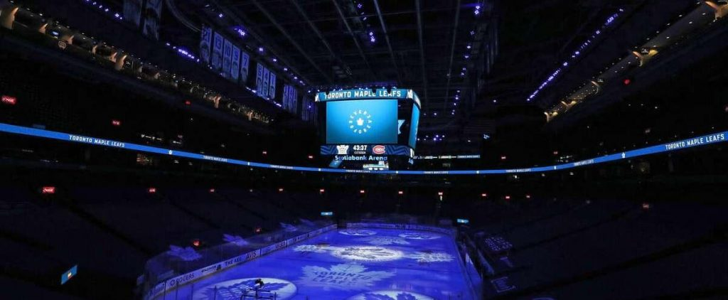 Canadian c.  Maple Leaves: Fans will be in the stands in Toronto on Monday night