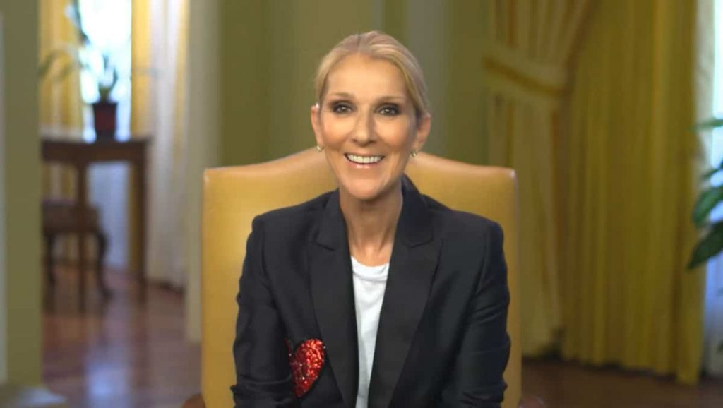Celine Dion is on stage from November