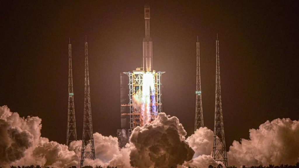 China launches spacecraft loaded with equipment for the future space station