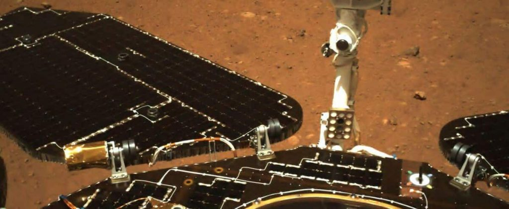 Chinese probe on Mars begins exploring the red planet