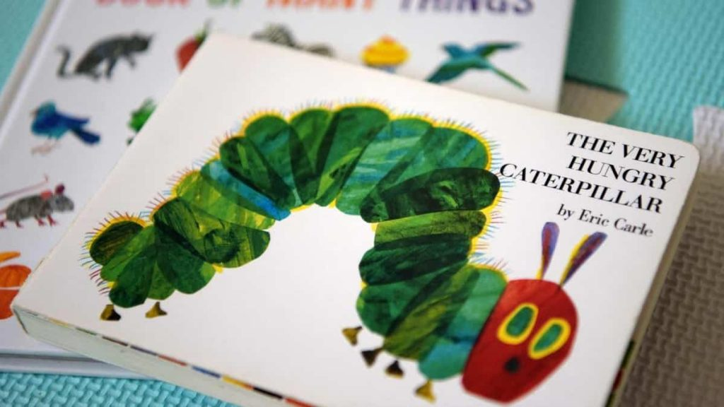 Eric Carle, author and illustrator of The Caterpillar That Makes Holes, has passed away at the age of 91