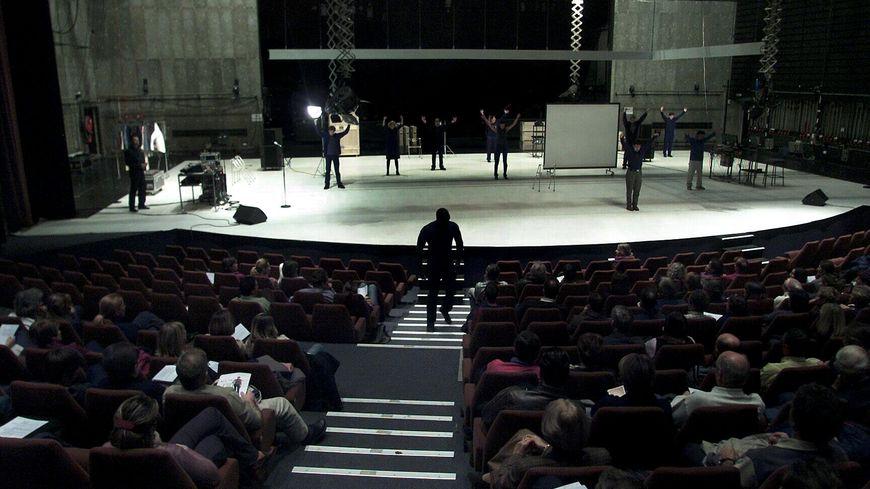 Salle de spectacle de l'espace Malraux à Chambéry