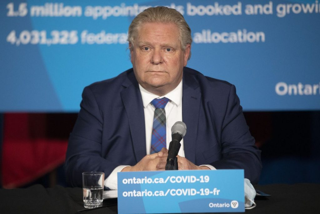 Ford government unveils plan to reopen |  Covid-19 |  News |  Right