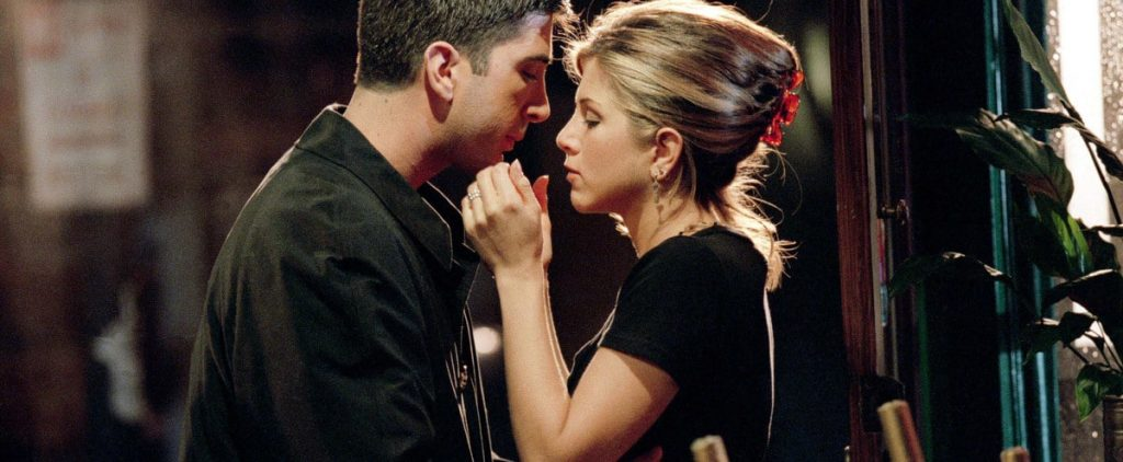 Friends: Jennifer Aniston (Rachel) and David Schwimmer (Ross) almost became a real couple