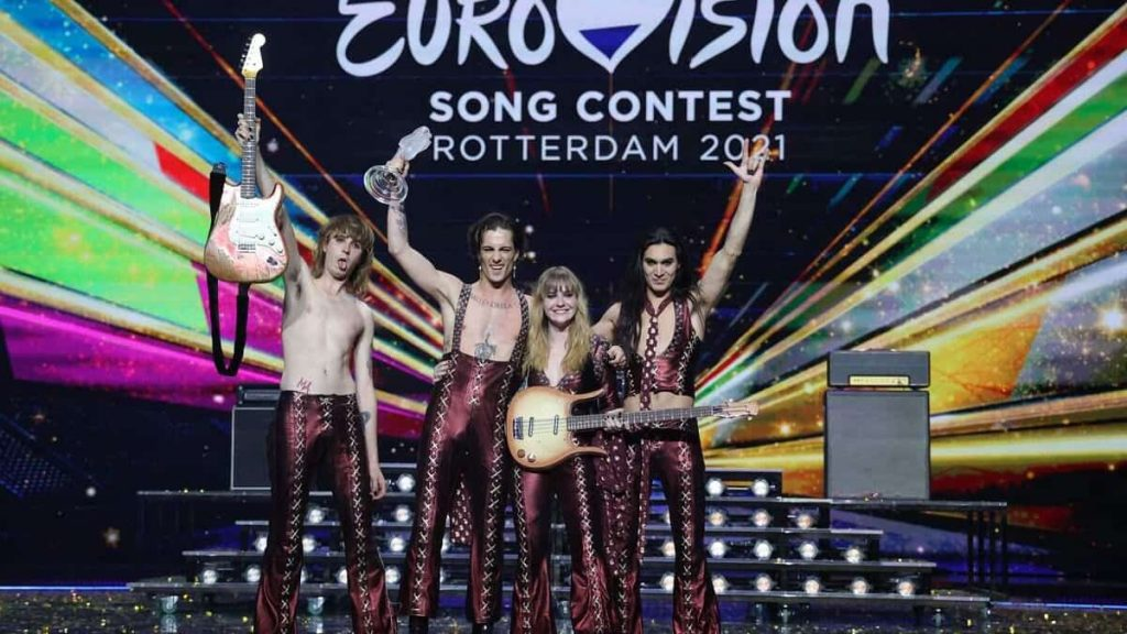 Italy wins the Eurovision 2021 music competition