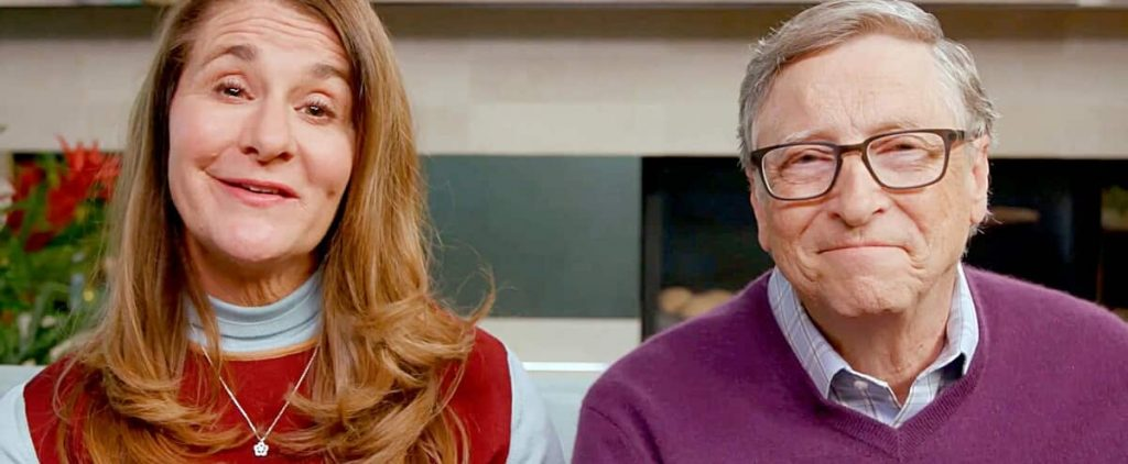 It's the end of Bill and Melinda Gates