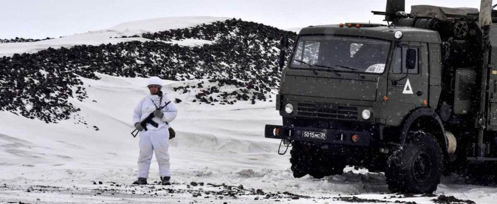 "Washington calls for ""avoiding the militarization"" of the Arctic"