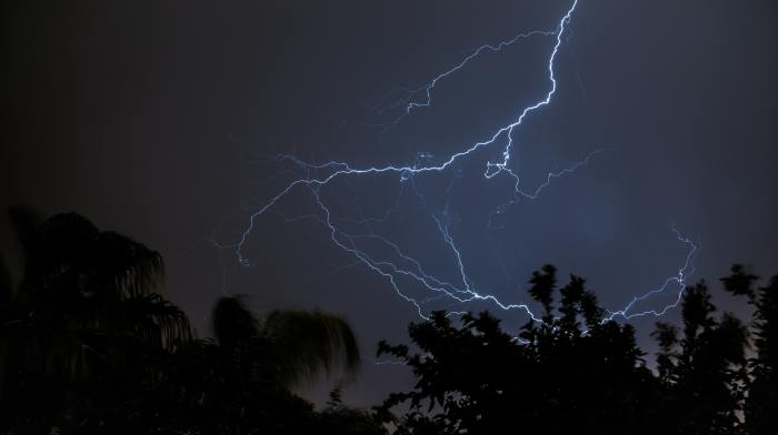 Electric night looms in some areas