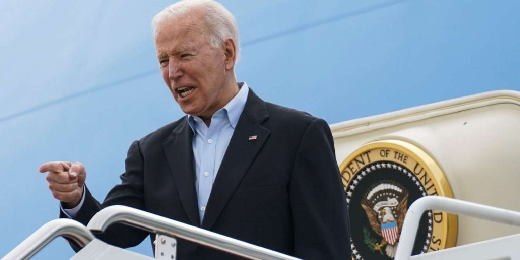 """Joe Biden wants to """"let Putin and China know that the United States and Europe are united."""""""