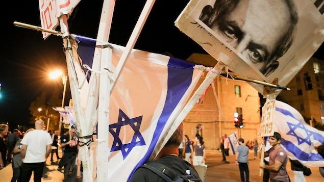 In Jerusalem, anti-Netanyahu celebrates 'victory'