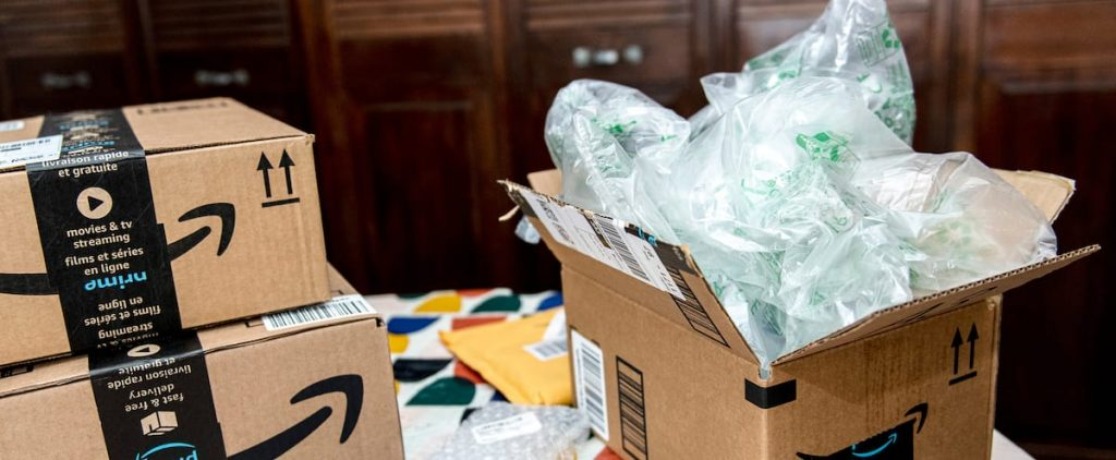 Amazon: Tons of Packaging for Nothing