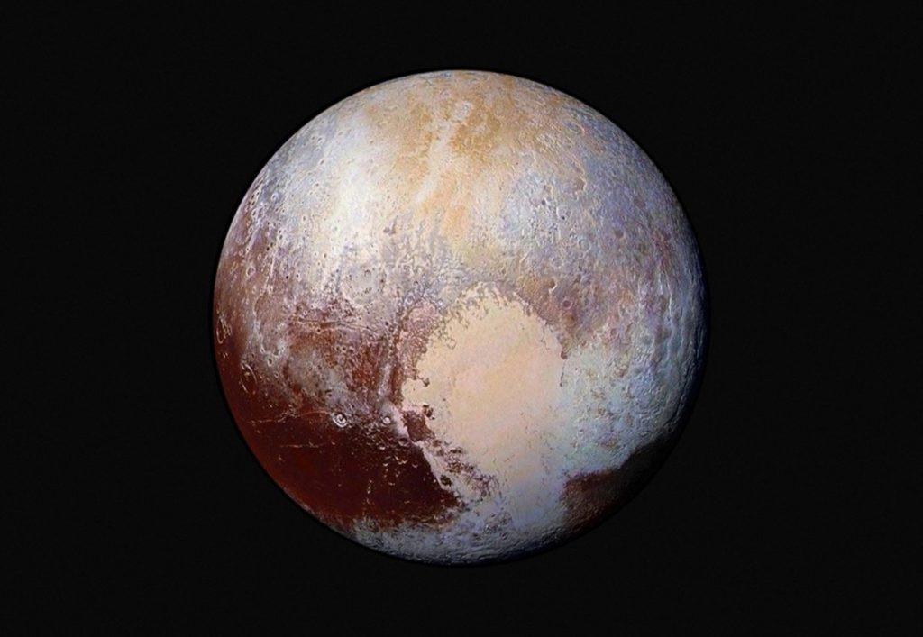 Space: What is this mysterious red spot visible on Pluto?