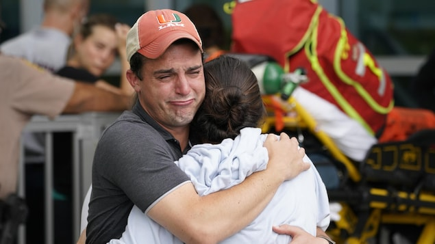 Florida building collapse: 1 dead, 99 . missing
