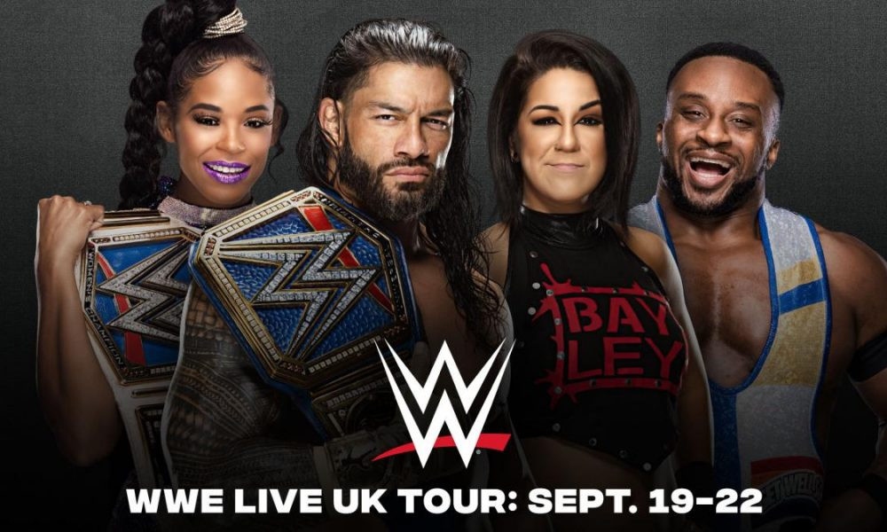 Many UK dates announced by WWE!
