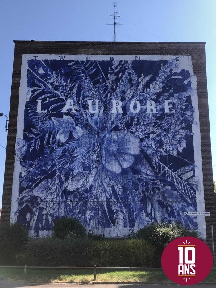 Fresques et ateliers graphiques Espace culturel Agora-Maurice Cordon