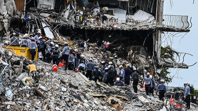 Collapse in Florida: The condition of the building continues to deteriorate