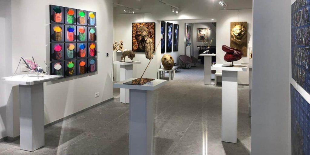 Alfredo Longo ouvre un nouvel espace d'art à Mons