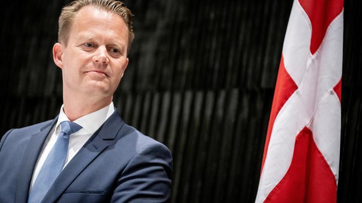 Le gouvernement danois a dénoncé la violation vendredi de l