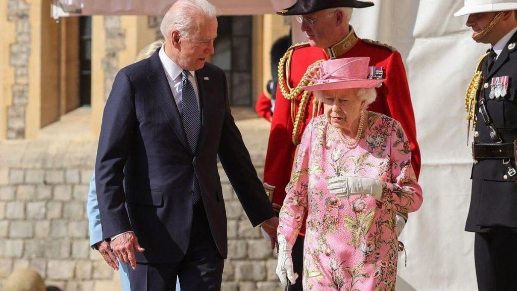 Elizabeth II receives Joe Biden at Windsor Castle