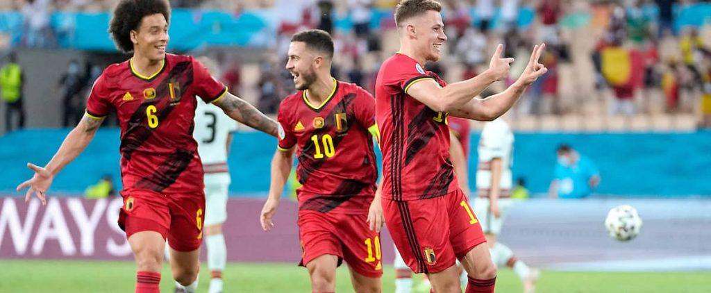 Euro: wresting Belgium