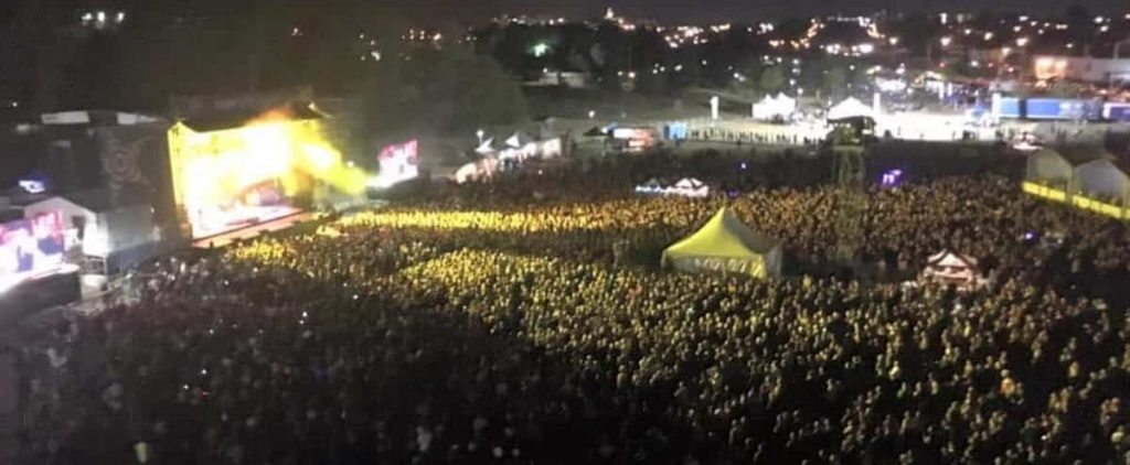 Festival for 2,500 people in Rimouski