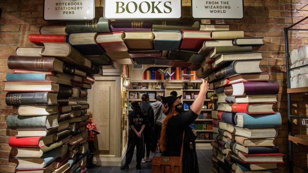 Giant Harry Potter store opens in New York