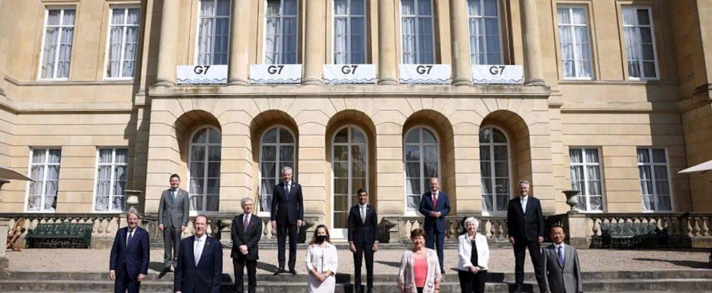 'Historic' agreement at G7 Finances regarding minimum corporate tax